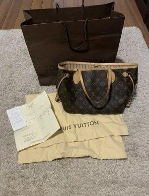 Louis Vuitton Shopper camel-donkerbruin