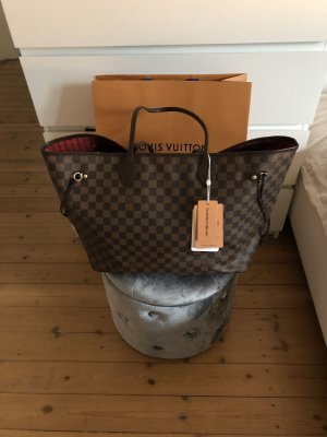 Louis Vuitton Neverfull GM Damier Ebene Canvas Shopper Tasche