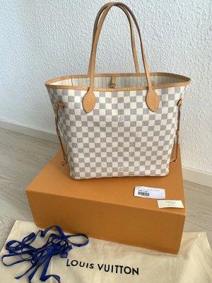 Louis Vuitton Neverfull MM Damier Azur mit Bag-Organizer