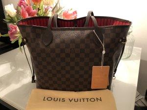 Louis Vuitton Neverfull MM Damier Ebene Canvas Tasche Shopper