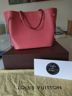 Louis Vuitton Neverfull mm epi Leder corail -Original-