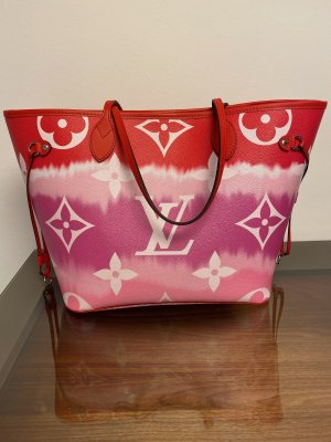 Louis Vuitton Neverfull MM Escale 2020 rot
