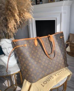 Louis Vuitton Neverfull MM GM tote Tasche Staubbeutel Set Shopper