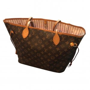 Louis Vuitton Neverfull MM Shopper Rosa Tasche Top Rar