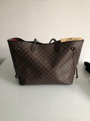 Louis Vuitton Neverfull Shopper XL Tasche Top Canvas Leder Braun