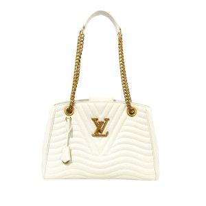 Louis Vuitton Borsa larga bianco Pelle