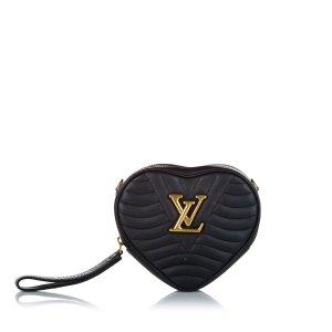 Louis Vuitton Gekruiste tas zwart Leer