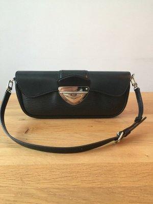 Louis Vuitton Noir Epi Montaigne Clutch Bag
