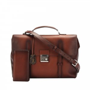 Louis Vuitton Business Bag brown leather