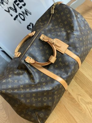 Louis Vuitton Weekender Bag brown-beige