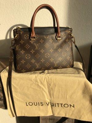 Louis Vuitton Pallas BB Noir Tasche Monogram mit Rechnung