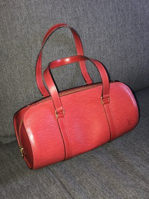 Louis Vuitton Papillon 30 Epi Leder in rot