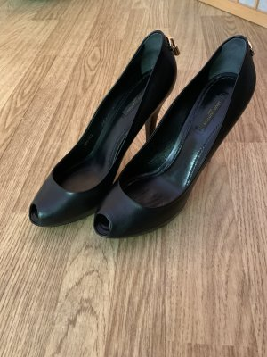 Louis Vuitton peeptoe Pumps