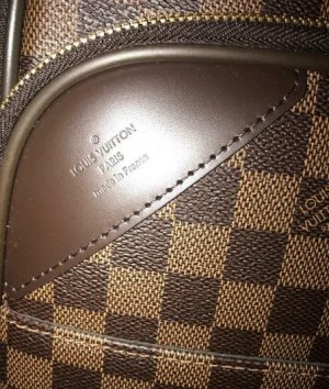 Louis Vuitton Trolley bronzo Tessuto misto