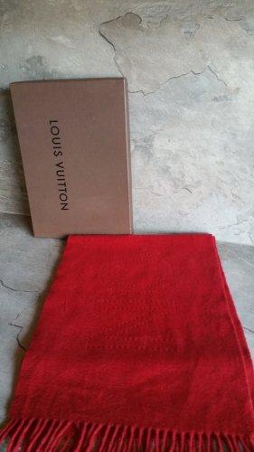 Louis Vuitton Écharpe en cachemire rouge cachemire