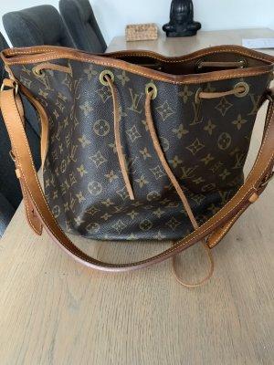Louis Vuitton Sac seau brun-brun foncé