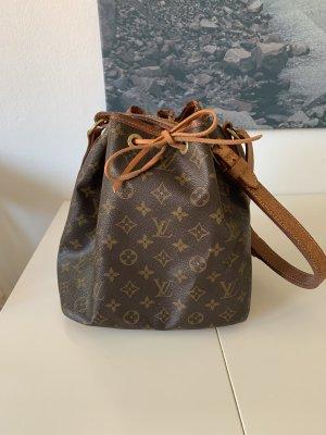 Louis Vuitton Sac bandoulière brun-brun noir