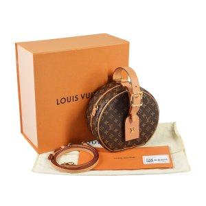 Louis Vuitton Petite Boite Chapeau Monogram Canvas Handtasche @mylovelyboutique.com