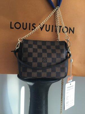 Louis Vuitton Sac de soirée brun foncé