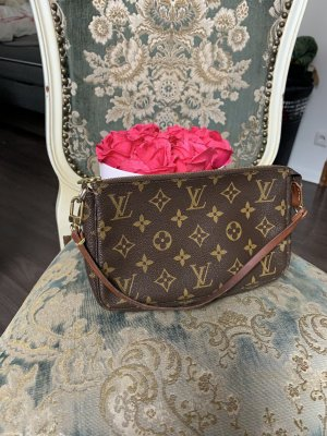 Louis Vuitton Bolso tipo pochette color bronce-ocre