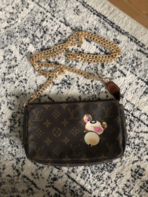 Louis Vuitton Pochette Accessoires NM Monogram Canvas Bandouliere Crossbody