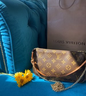 Louis Vuitton pochette Accessoires Tasche neu Staubbeutel
