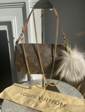 Louis Vuitton Sac de soirée multicolore cuir
