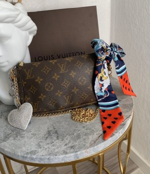 Louis Vuitton pochette Accessoires Tasche Staubbeutel Verpackung