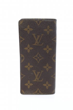 Louis Vuitton Pochette marrone-cachi stampa integrale stile casual