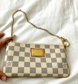 Louis Vuitton Poszetka jasnoszary-biały