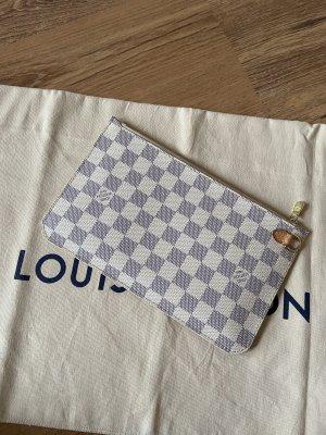 Louis Vuitton Pochette damier azur aus der Neverfull