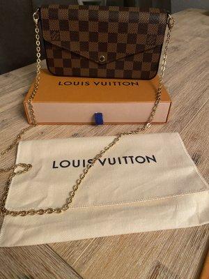 Louis Vuitton Pochette marrone scuro-marrone