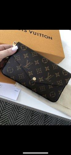Louis Vuitton Crossbody bag brown-black