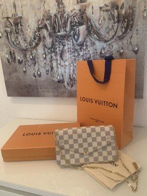 Louis Vuitton Pochette rose-gold-coloured-cream