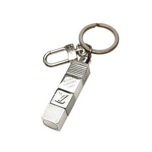 Louis Vuitton Key Case silver-colored metal