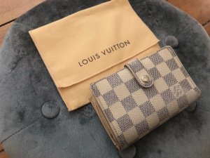 Louis Vuitton Portemonaie Azur Canvas Etui Clutch Pochette