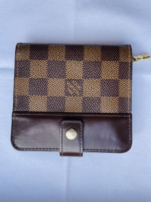Louis Vuitton Wallet dark brown-light brown