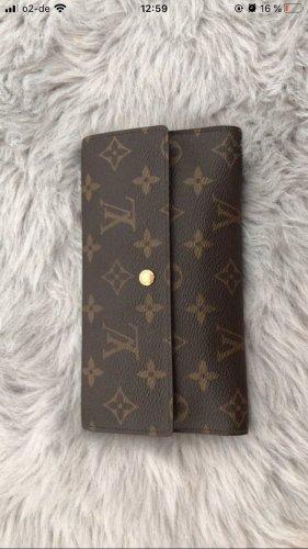 Louis Vuitton Wallet black brown-dark brown
