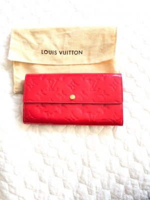 Louis Vuitton Portemonnaie in Granatapfel-Rot