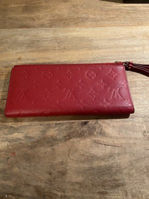 Louis Vuitton Wallet red-gold-colored
