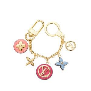 Louis Vuitton Key Chain gold-colored metal