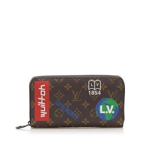 Louis Vuitton Printed Monogram Long Wallet