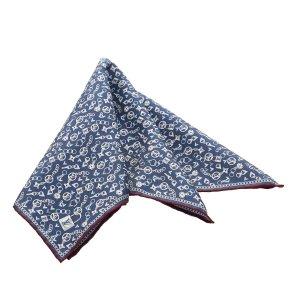 Louis Vuitton Scarf blue silk
