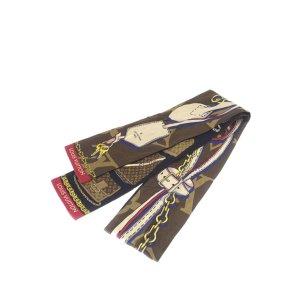 Louis Vuitton Printed Silk Twilly