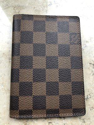 Louis Vuitton Custodie portacarte marrone chiaro-marrone-nero