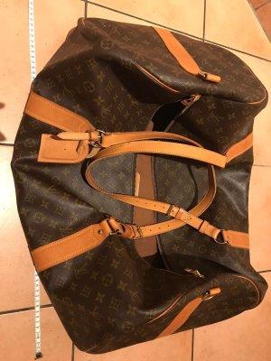 Louis Vuitton Bolso de viaje marrón-coñac