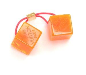Louis Vuitton Nastro per capelli arancio neon