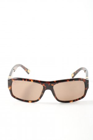 Louis Vuitton Retro Brille Allover-Druck Casual-Look