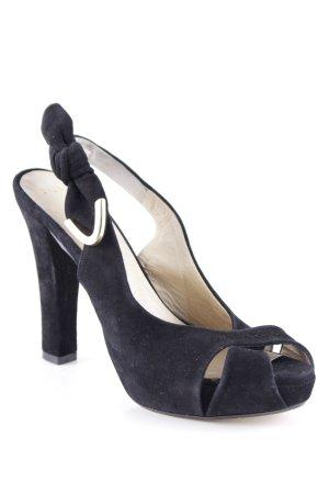 Louis Vuitton Riemchenpumps schwarz Elegant