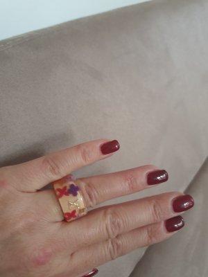 Louis Vuitton Ring Inclusion peach, Gr. S